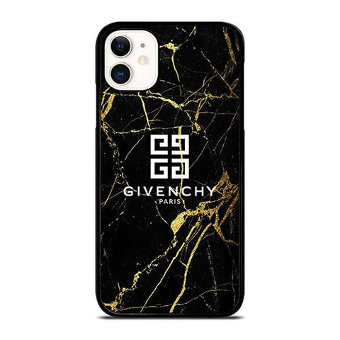 GIVENCHY PARIS GOLD MARBLE iPhone 11 Case Cover