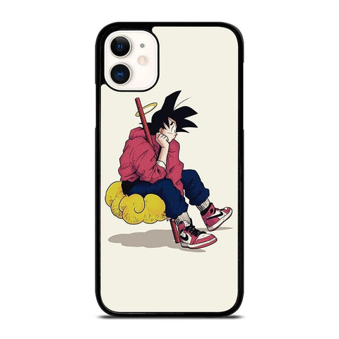 GOKU AIR JORDAN DRAGON BALL-iphone-11-case-cover