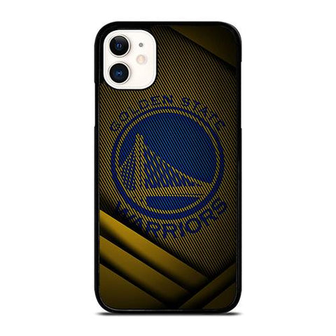 GOLDEN STATE BASKETBALL YELLOW LOGO iPhone 11 Case Cover