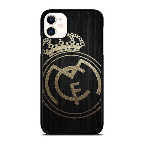 GOLD REAL MADRID LOGO-iphone-11-case-cover