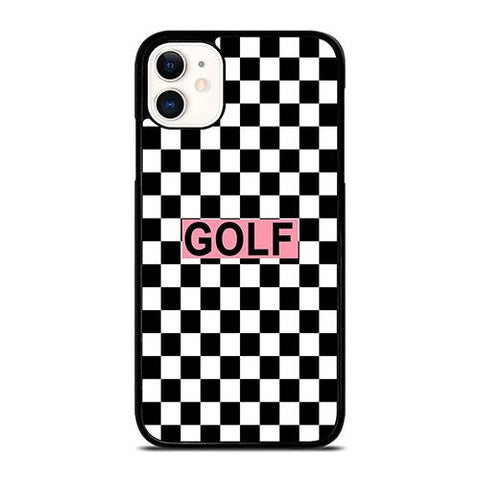 GOLF WANG BLACK WHITE PATTERN iPhone 11 Case Cover