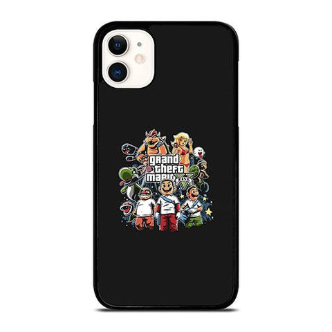 GRAND THEFT AUTO V MARIO BROSS iPhone 11 Case Cover