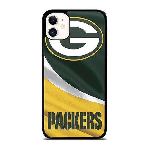GREEN BAY PACKER NFL FLAG iPhone 11 Case Cover