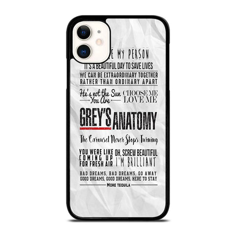 GREY'S ANATOMY QUOTES 2-iphone-11-case-cover