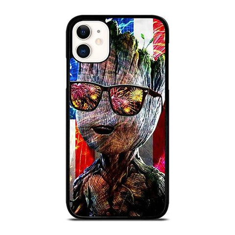 GROOT AMERICAN iPhone 11 Case Cover