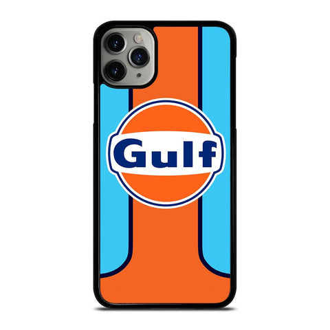 GULF OIL MOTOR LOGO-iphone-11-pro-max-case-cover