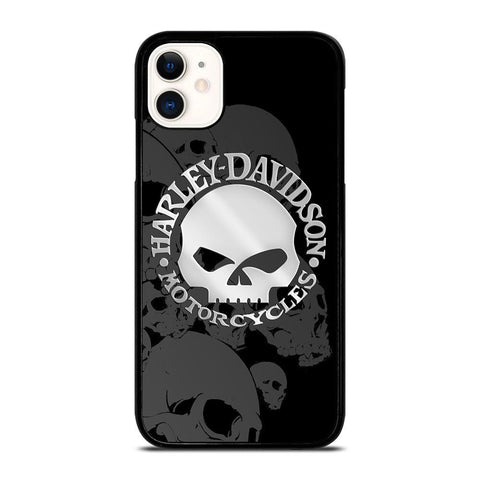 HARLEY DAVIDSON SKULL LOGO 2-iphone-11-case-cover