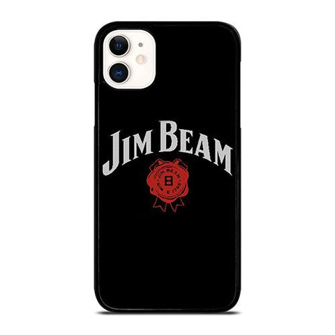 JIM BEAM WHISKEY RED LOGO iPhone 11 Case Cover