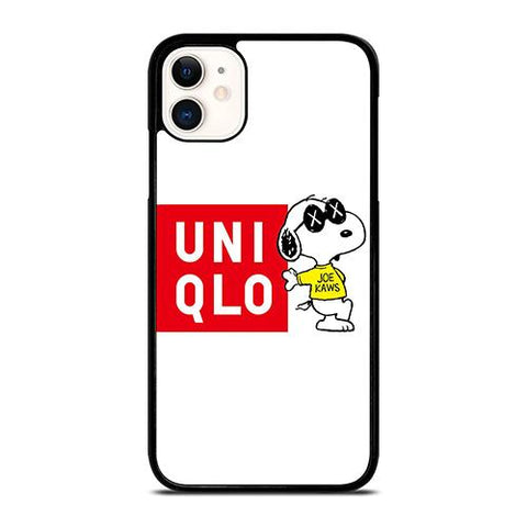 JOE KAWS UNIQLO LOGO iPhone 11 Case Cover