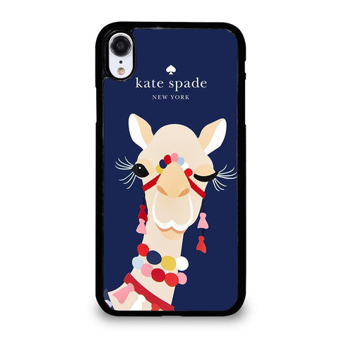 KATE SPADE CAMEL APPLIQUE-iphone-xr-case-cover
