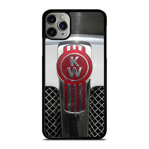 KENWORTH TRUCK LOGO GRAY iPhone 11 Pro Max Case Cover