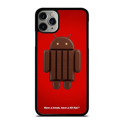 KIT KAT CHOCOLATE ANDROID ICON iPhone 11 Pro Max Case Cover