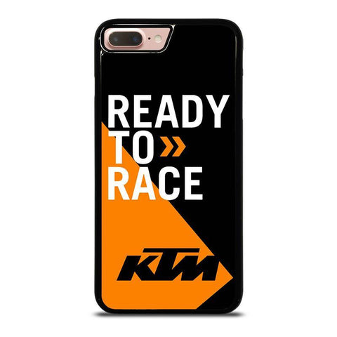 KTM READY TO RACE-iphone-8-plus-case-cover