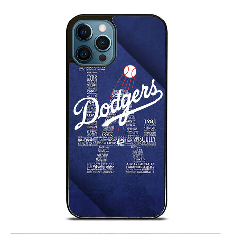 LA LOS ANGELES DODGERS iPhone 12 Pro Max Case Cover