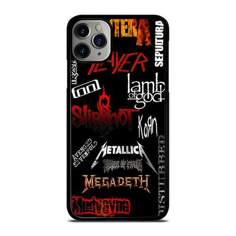 LEGENDARY HEAVY METAL BAND iPhone 11 Pro Max Case Cover