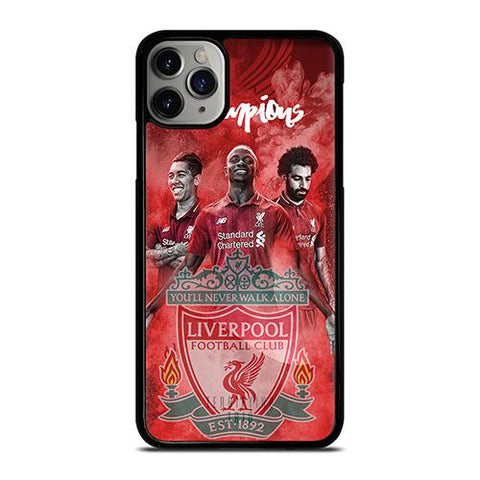 LIVERPOOL FC TRIO FIRMINO MANE SALAH iPhone 11 Pro Max Case Cover