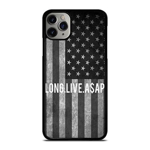 LONG LIVE ASAP ROCKY AMERICAN FLAG iPhone 11 Pro Max Case Cover