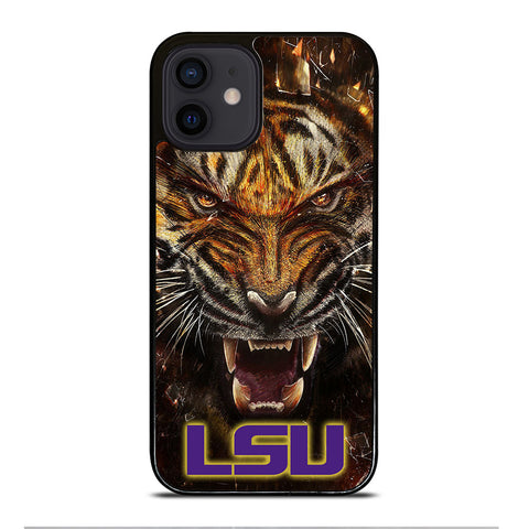 LSU TIGERS iPhone 12 Mini Case Cover