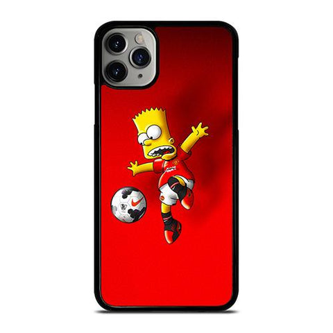 MANCHESTER UNITED BART SIMPSON iPhone 11 Pro Max Case Cover