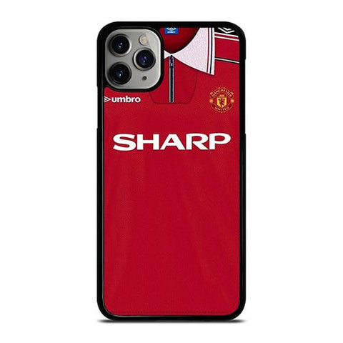 MANCHESTER UNITED FC CLASSIC JERSEY SHARP iPhone 11 Pro Max Case Cover