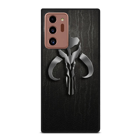 MANDALORIAN LEATHER LOGO Samsung Galaxy Note 20 Ultra Case Cover