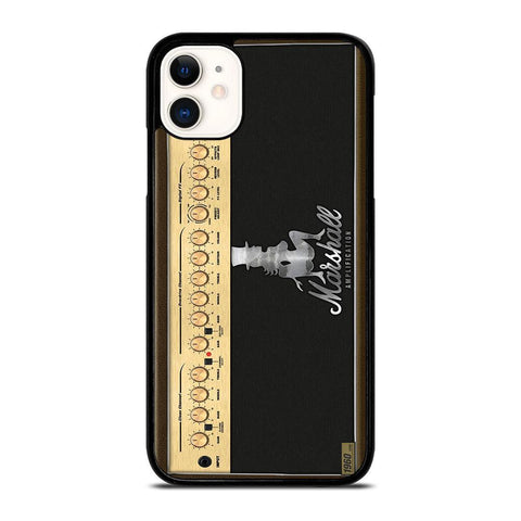 MARSHALL AMPLIFIER LOGO-iphone-11-case-cover