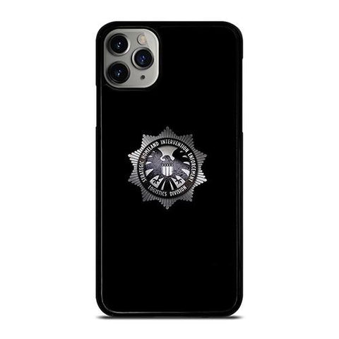 MARVEL AGENTS OF SHIELD METAL LOGO iPhone 11 Pro Max Case Cover