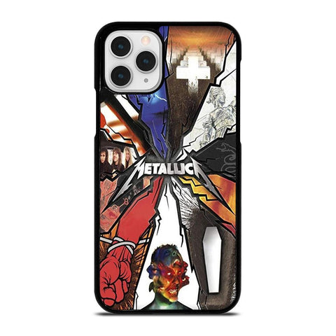 METALLICA GROUP ROCK BAND LOGO-iphone-11-pro-case-cover