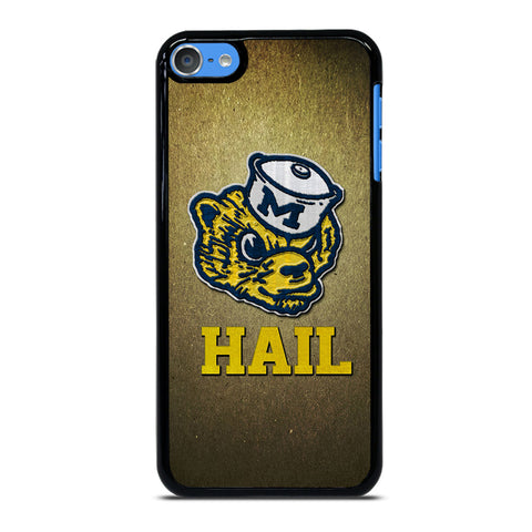 MICHIGAN WOLVERINES MASCOT iPod Touch 7 Case Cover