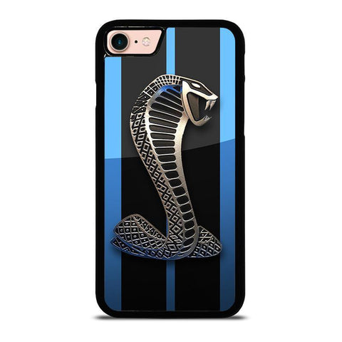 MUSTANG FORD SHELBY COBRA BLUE-iphone-8-case-cover