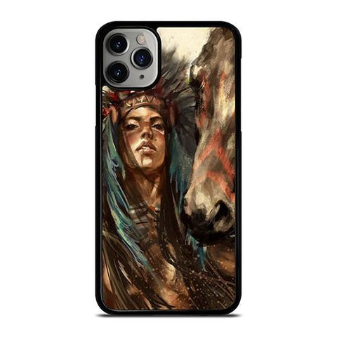 NATIVE AMERICAN PEOPLE ART iPhone 11 Pro Max Case Cover