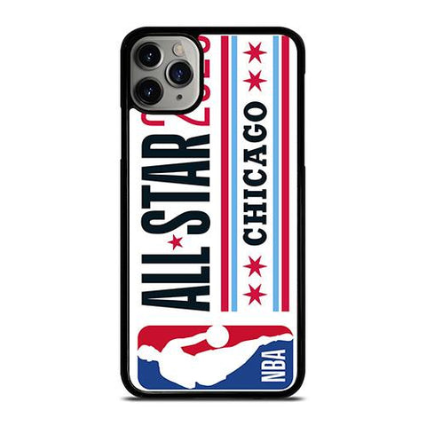 NBA ALL STAR 2020 CHICAGO iPhone 11 Pro Max Case Cover