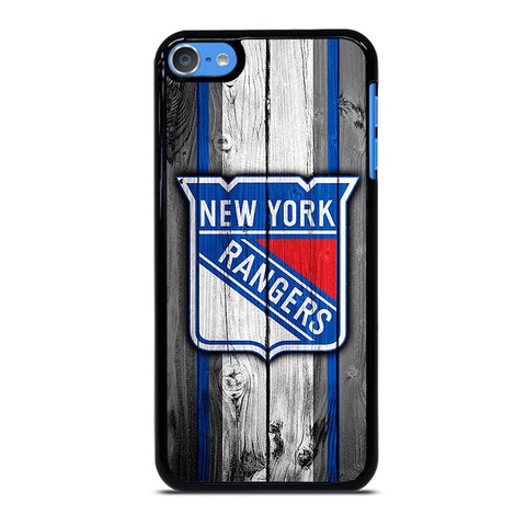 NEW YORK RANGERS WOODEN ICON iPod Touch 7 Case Cover