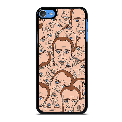 NICOLAS CAGE COLLAGE iPod Touch 7 Case Cover