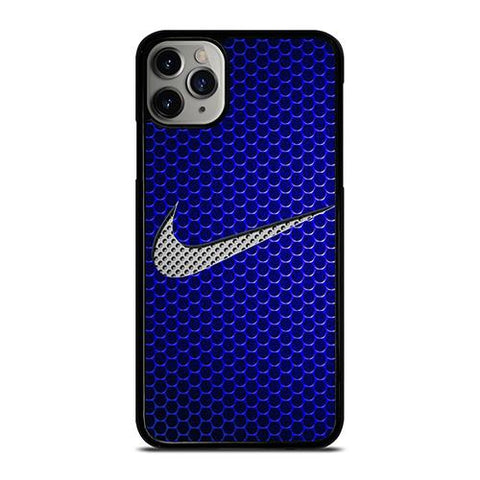 NIKE LOGOMETAL BLUE iPhone 11 Pro Max Case Cover