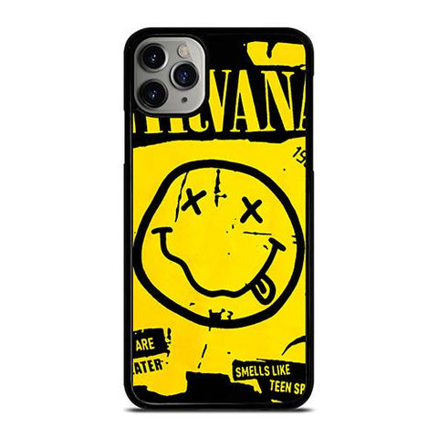 NIRVANA ROCK BAND SMILEY iPhone 11 Pro Max Case Cover