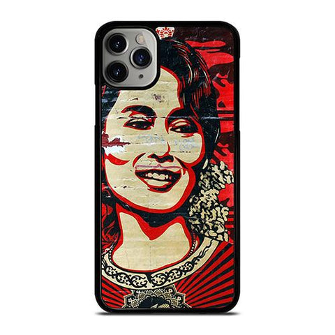 OBEY AUNG SAN SUU KYI iPhone 11 Pro Max Case Cover