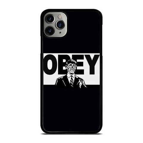 OBEY CLOTHING LOGO SKULL iPhone 11 Pro Max Case Cover