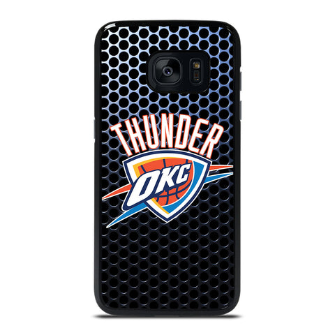 OKLAHOMA CITY THUNDER LOGO Samsung Galaxy S7 Edge Case Cover