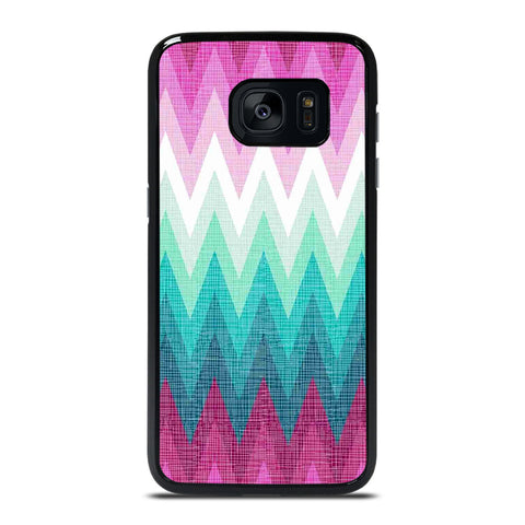 OMBRE PASTEL CHEVRON Samsung Galaxy S7 Edge Case Cover
