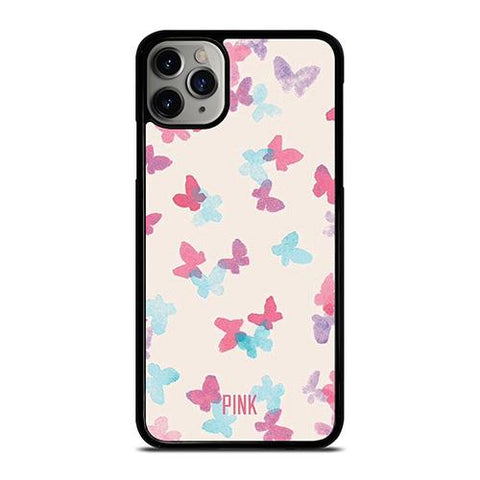 PINK NATION BUTTERFLY BRUSH iPhone 11 Pro Max Case Cover