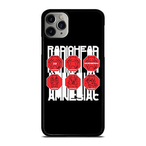 RADIOHEAD AMNESIAC LOGO iPhone 11 Pro Max Case Cover