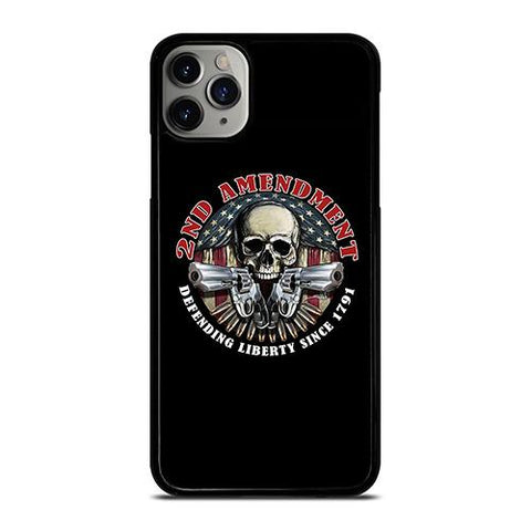 SECOND AMENDEMENT USA LIBERTY iPhone 11 Pro Max Case Cover