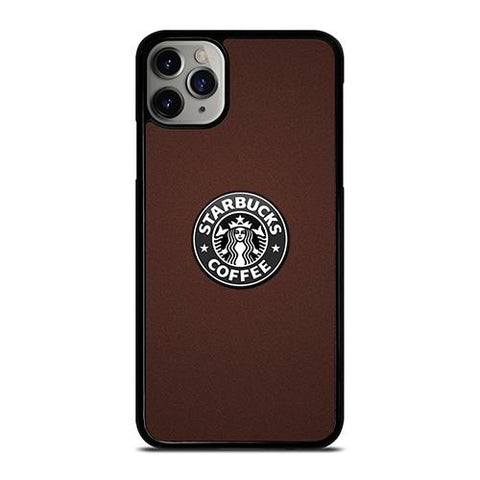 STARBUCKS COFFEE BROWN LOGO iPhone 11 Pro Max Case Cover