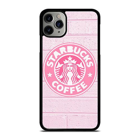 STARBUCKS COFFEE PINK WALL iPhone 11 Pro Max Case Cover