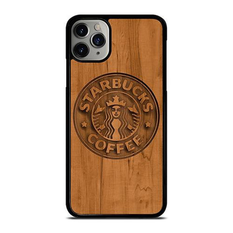 STARBUCKS COFFEE WOODEN LOGO iPhone 11 Pro Max Case Cover