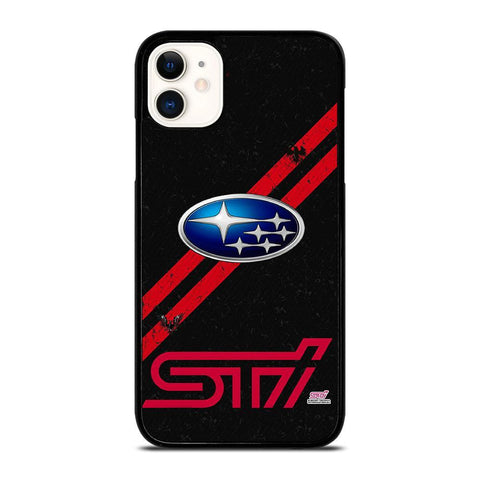 SUBARU STI LOGO-iphone-11-case-cover