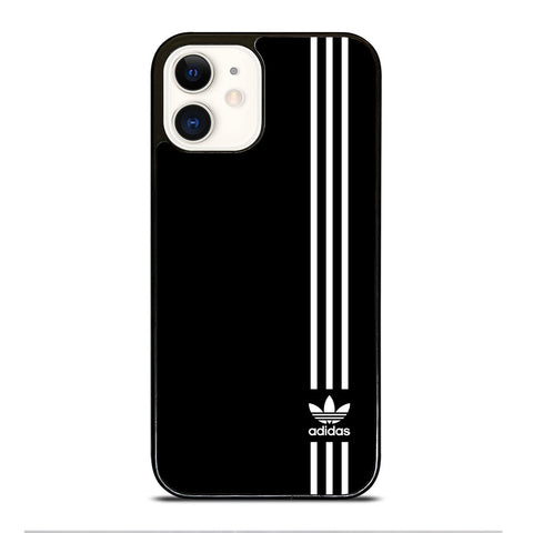 SUPERB ADIDAS LOGO BLACK iPhone 12 Case Cover
