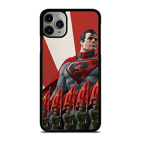 SUPERMAN RED SON DC COMICS iPhone 11 Pro Max Case Cover
