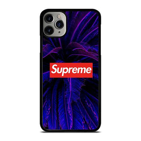 SUPREME GLOWING PALM TREE iPhone 11 Pro Max Case Cover